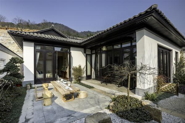 新中式庭院已成为中国人居住文化的新载体