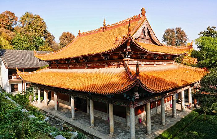 长沙麓山寺——湖南省最古老的寺庙之一