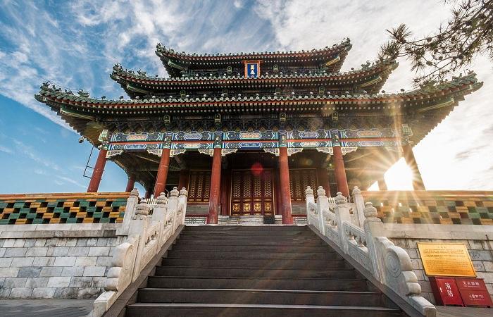 北京景山公园——明清时期的皇家御苑