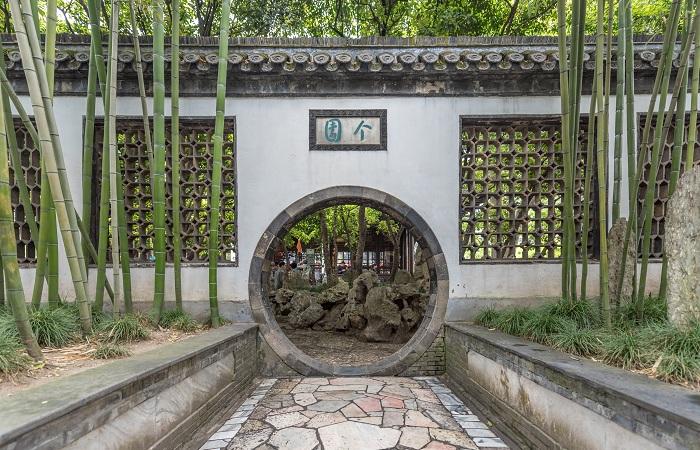 扬州个园四季假山名满天下