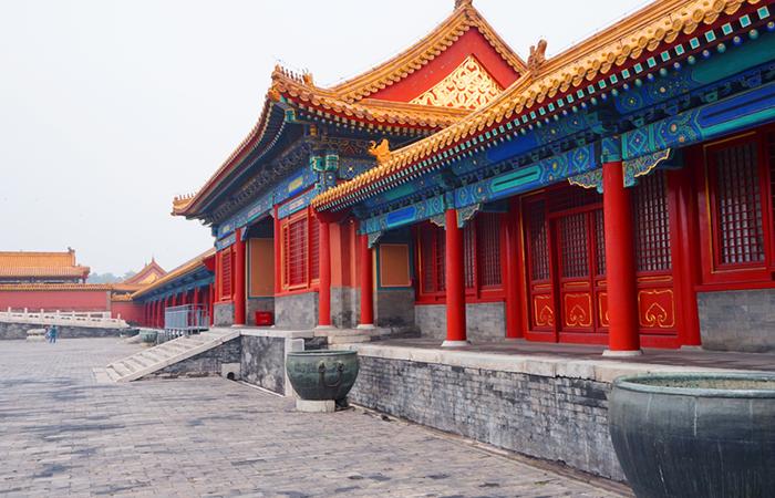 中国古建筑紫禁城门窗的运用智慧