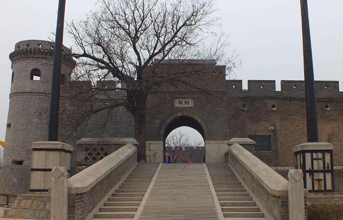 山东古建筑魏氏庄园——中国三大庄园之一