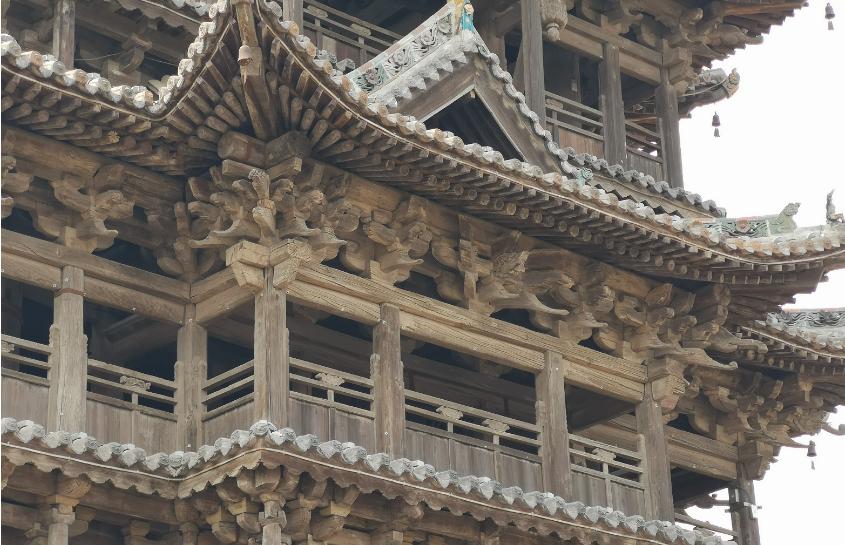 山西古建筑飞云楼