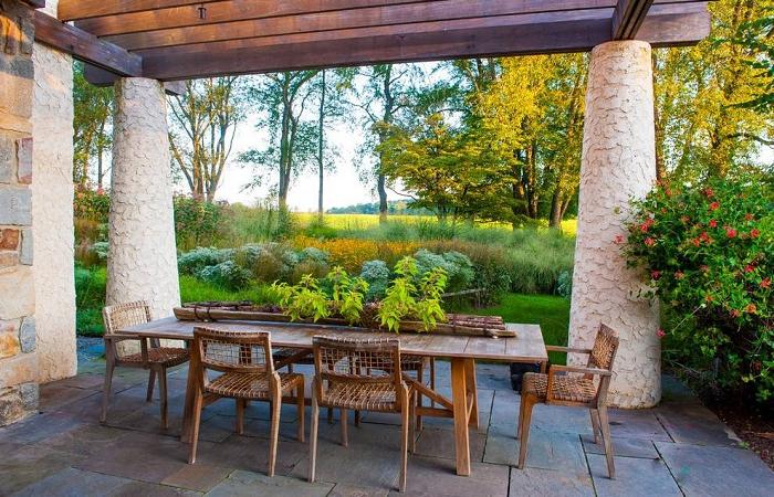 庭院景观设计中的十大原则