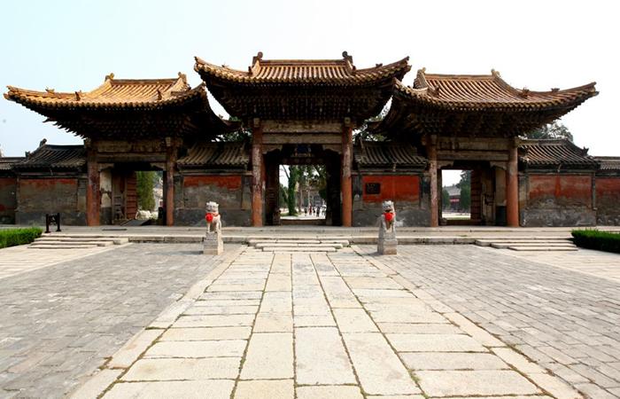 陕西华阴西岳庙:明清宫殿御苑式古建筑群
