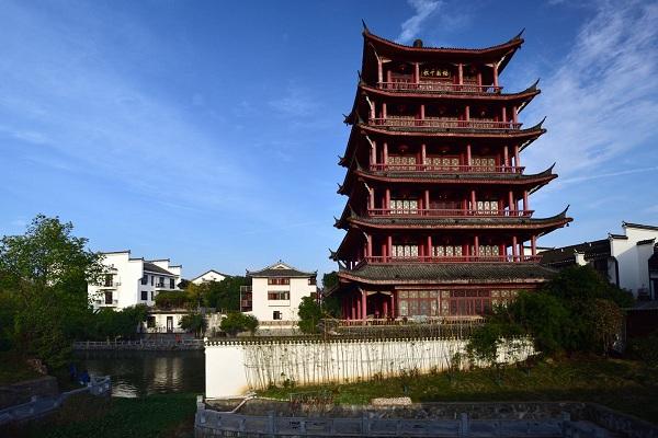 三河古镇·望月阁