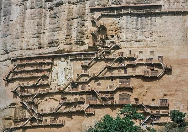 麦积山石窟·西崖
