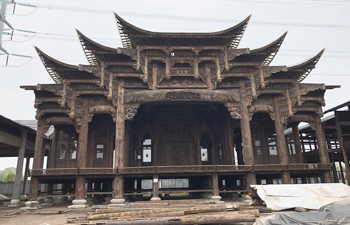 中国古代戏楼的建筑特色以及分类