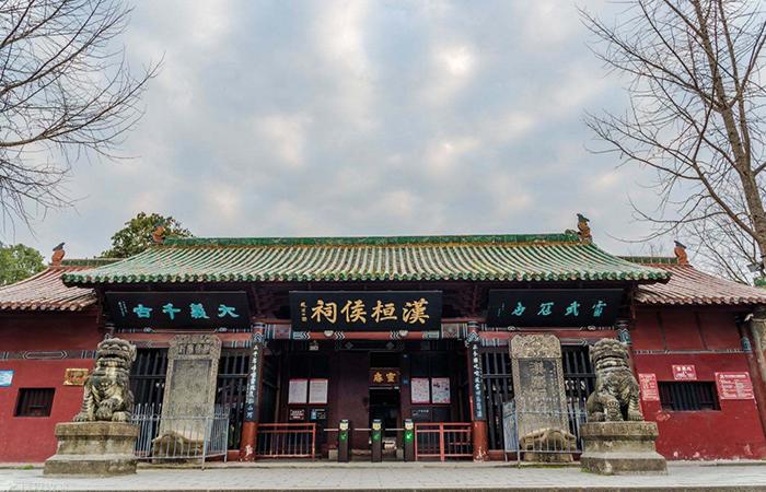 四川古建筑张桓侯祠——重要的三国文化遗迹