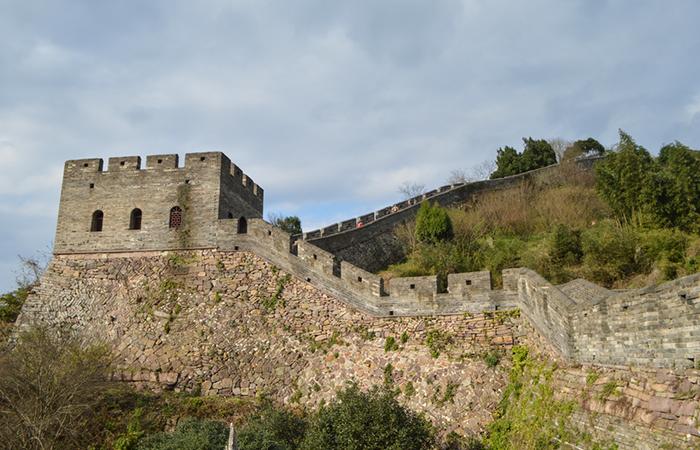 中国古建筑台州府城墙,看明清高超的筑城技术!