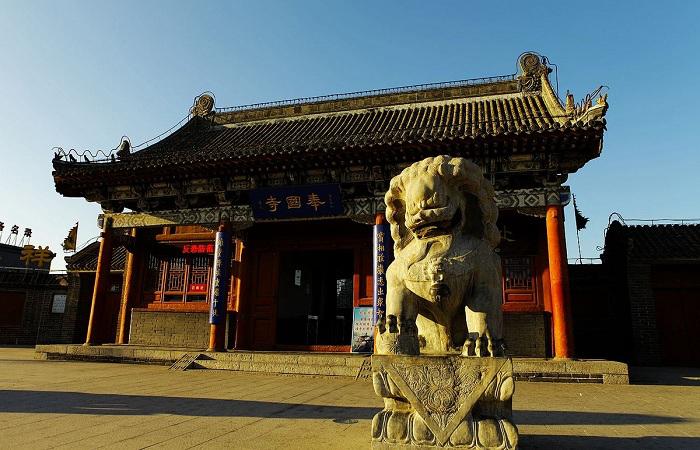 义县奉国寺——国内现存辽代三大寺院之一