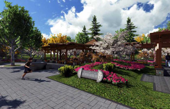 崔哲-公园景观设计