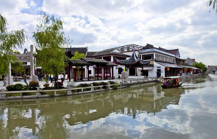 """上海召稼楼古镇被誉为""""城隍故里"""""""