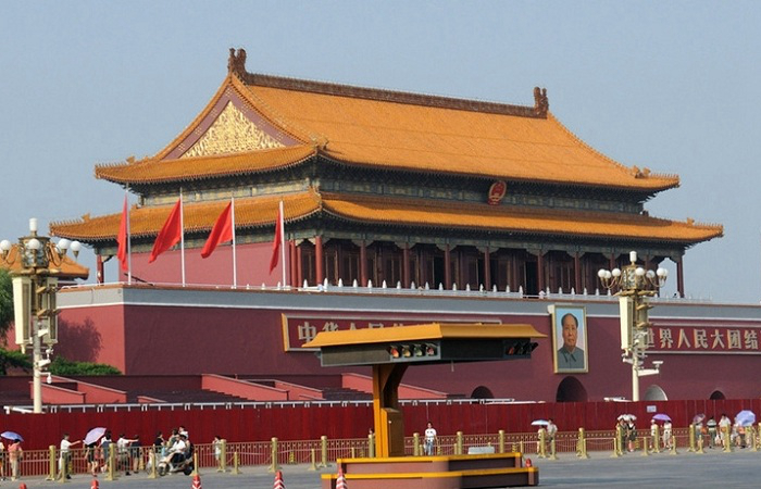 天安门观礼台入选北京历史建筑