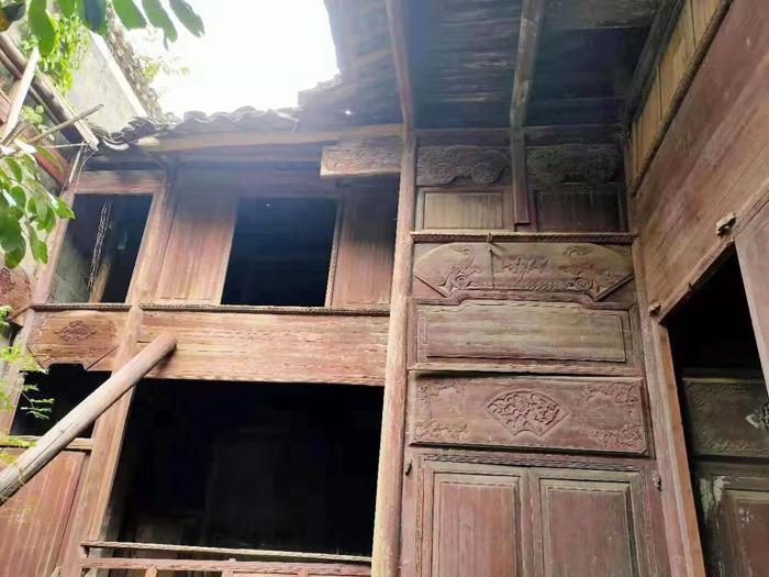 出售_老宅_古建筑_江西抚州清末民居500平方米