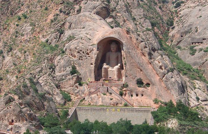 须弥山石窟——中国十大石窟之一