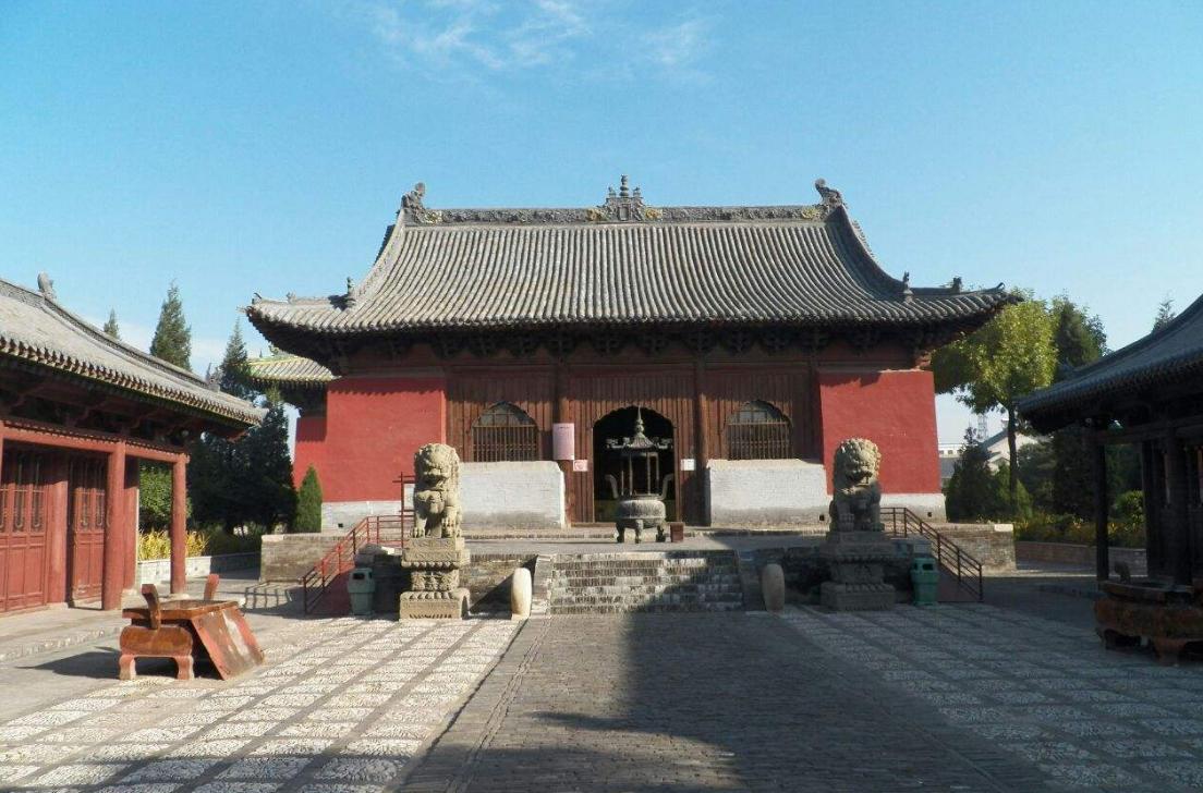 山西朔州崇福寺
