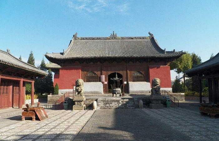 山西朔州崇福寺——古建艺术殿堂