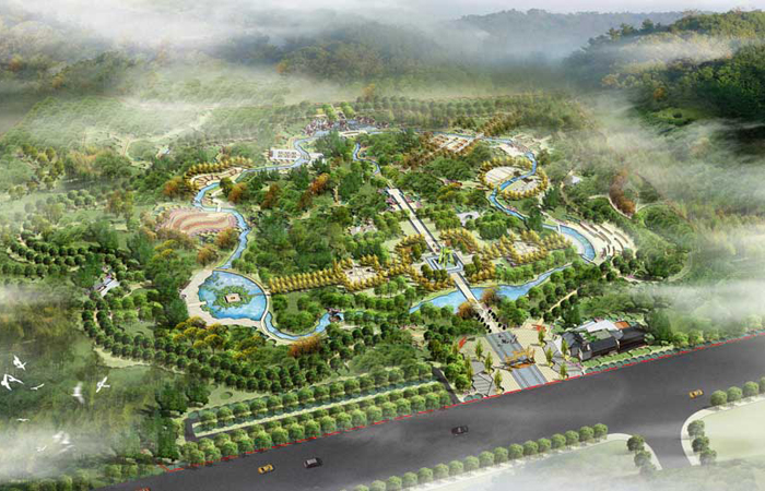 范同领-山东省齐鲁之心生态文化主题公园景观设计