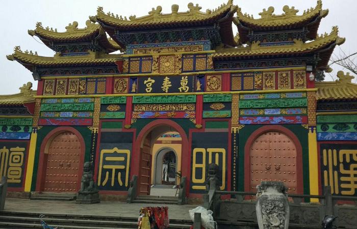西山万寿宫——南昌知名的千年古建筑