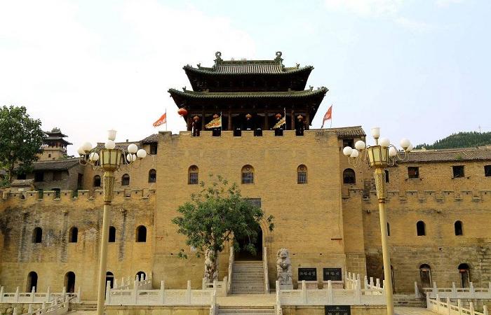 """湘峪古堡被誉为""""中国北方乡村第一明代古城堡"""""""