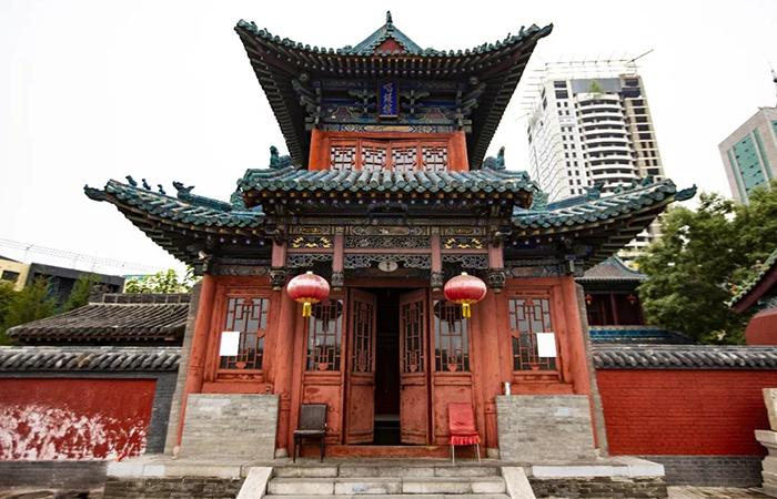 山西古建筑太原唱经楼——古代金榜题名的见证