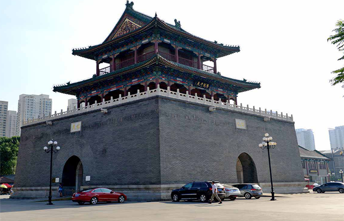 天津明清古建三宝:鼓楼、炮台、铃铛阁