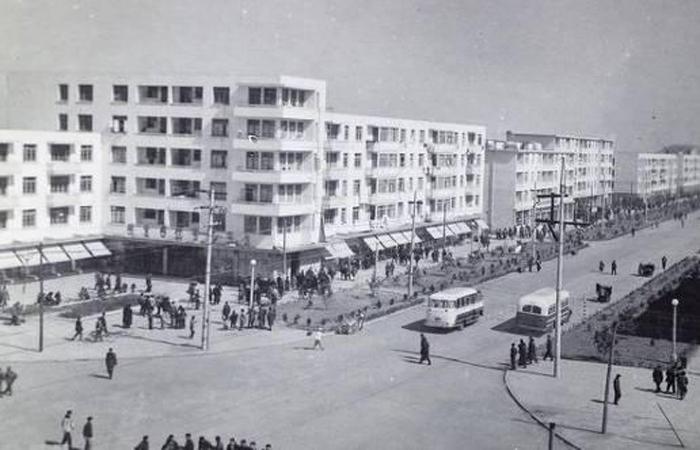 建筑大师陈植设计作品-闵行一条街