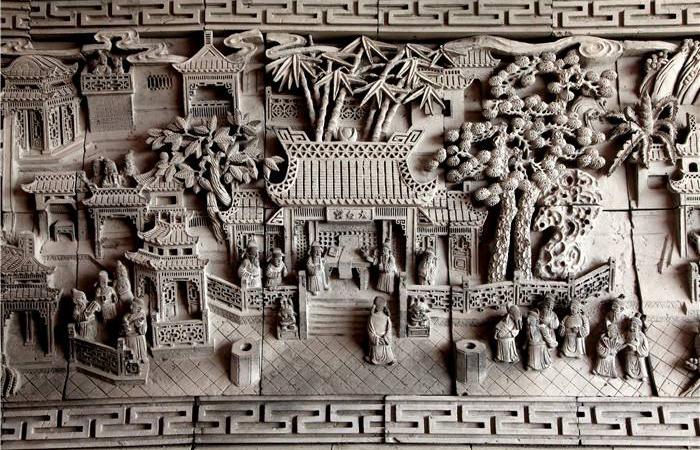 浅谈民居砖雕的南北文化差异