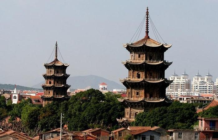 泉州东西塔——中国古代石构建筑瑰宝