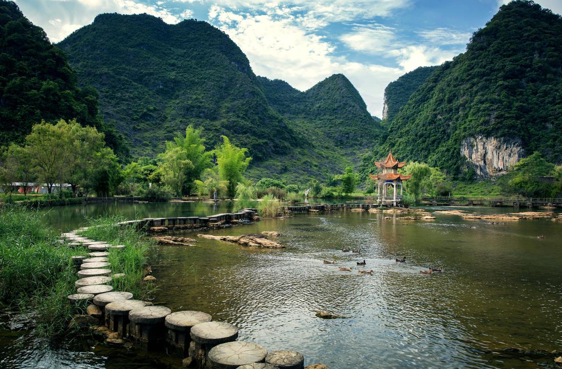 中国园林亭子
