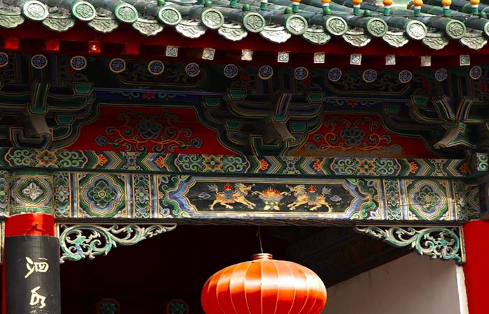中国古建筑彩绘的修复方法