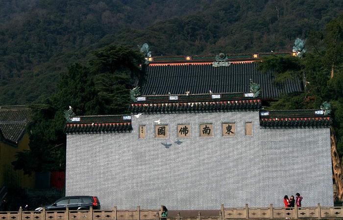宁波天童寺——佛教禅宗五大名山之一