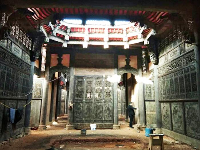 出售_德春府,江西400年老房子,占地430平方,精美无比的古宅