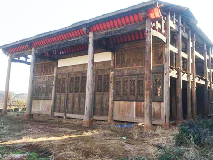 出售_进士府,建于清代乾隆年老房,占地约360多平方,砖木结构的古宅