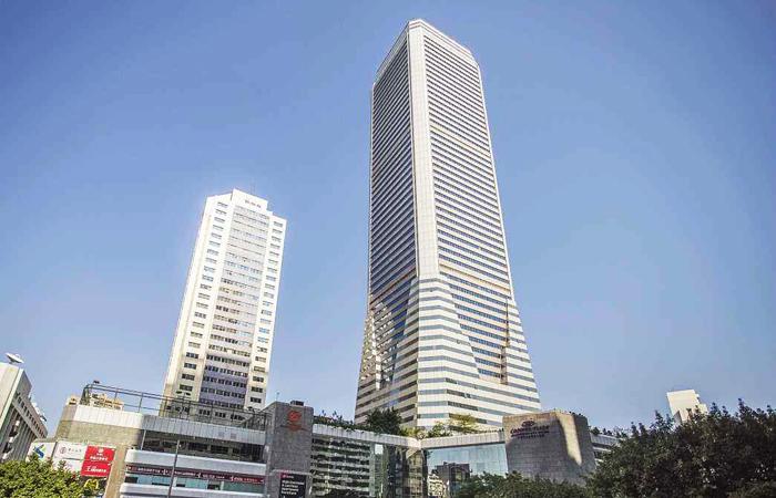 建筑大师容柏生设计作品-广东国际大厦