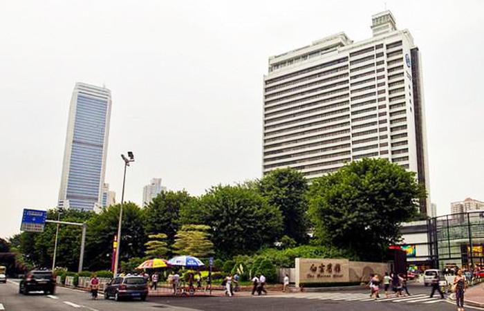 建筑大师容柏生设计作品-广州白云宾馆