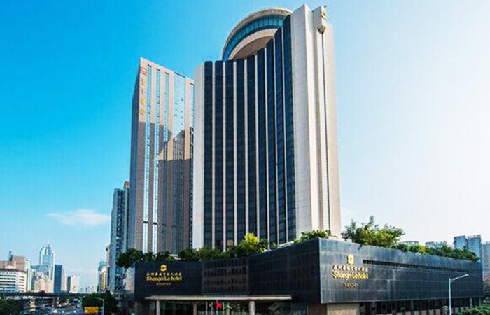 建筑大师容柏生设计作品-深圳香格里拉大酒店