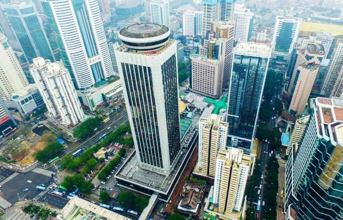 建筑大师黄耀莘设计作品-深圳国际贸易中心大厦