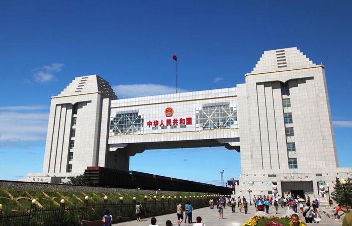建筑大师刘克良设计作品-满洲里国门