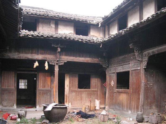 出售_四合院,位于义乌的古宅,木雕老房子