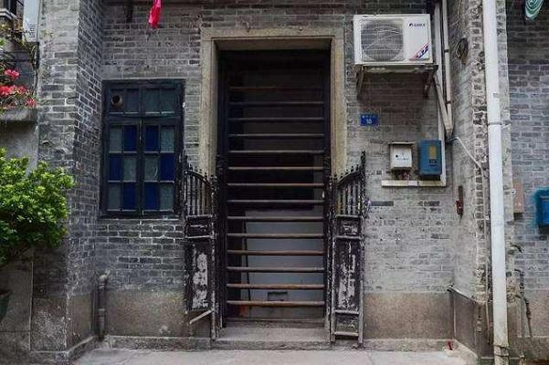 广州西关大屋的门