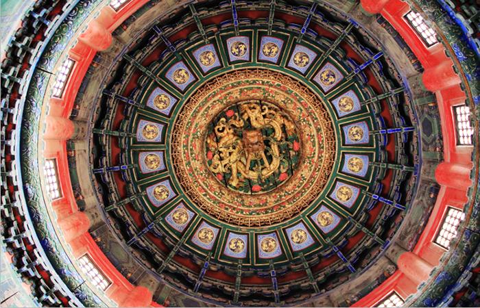 中国古建筑关于藻井的装饰艺术