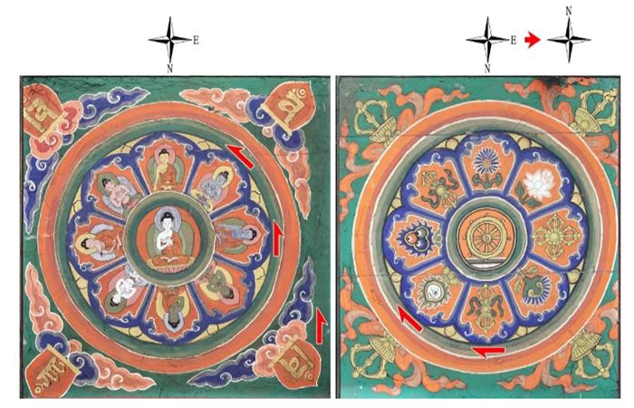 永乐大钟五方佛曼荼罗及其在建筑空间中的运用