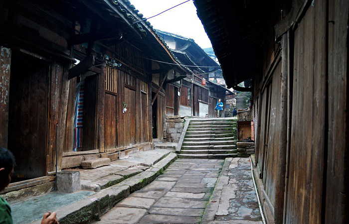 福宝古镇——四川省最美丽的古镇之一