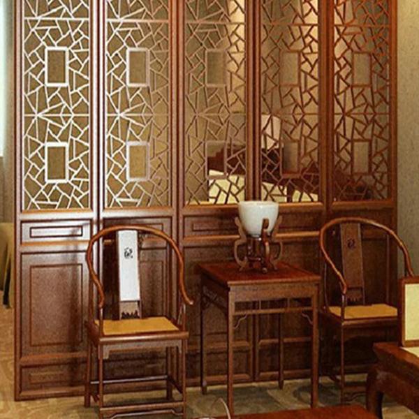 中式装修_仿古木门窗_中式家具