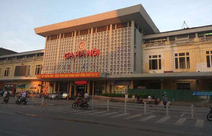建筑大师袁培煌设计作品-越南河内火车站