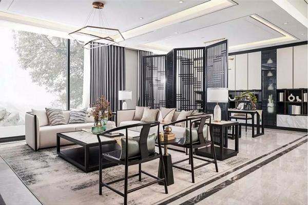 新中式风格特点·客厅