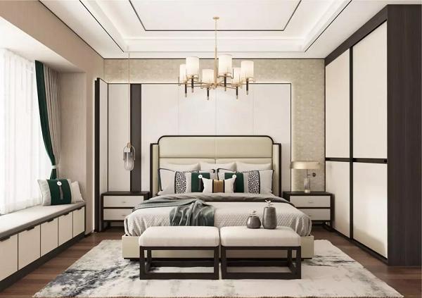 新中式风格特点·卧室