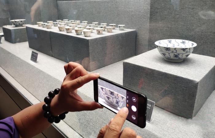 50件古沉船瓷器入藏福建泉州海交馆
